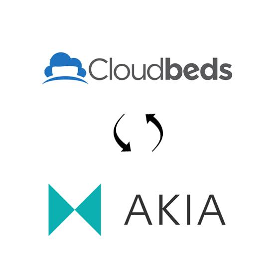 Cloudbeds and Akia real time sync