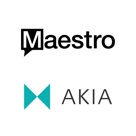 Maestro and Akia real-time sync