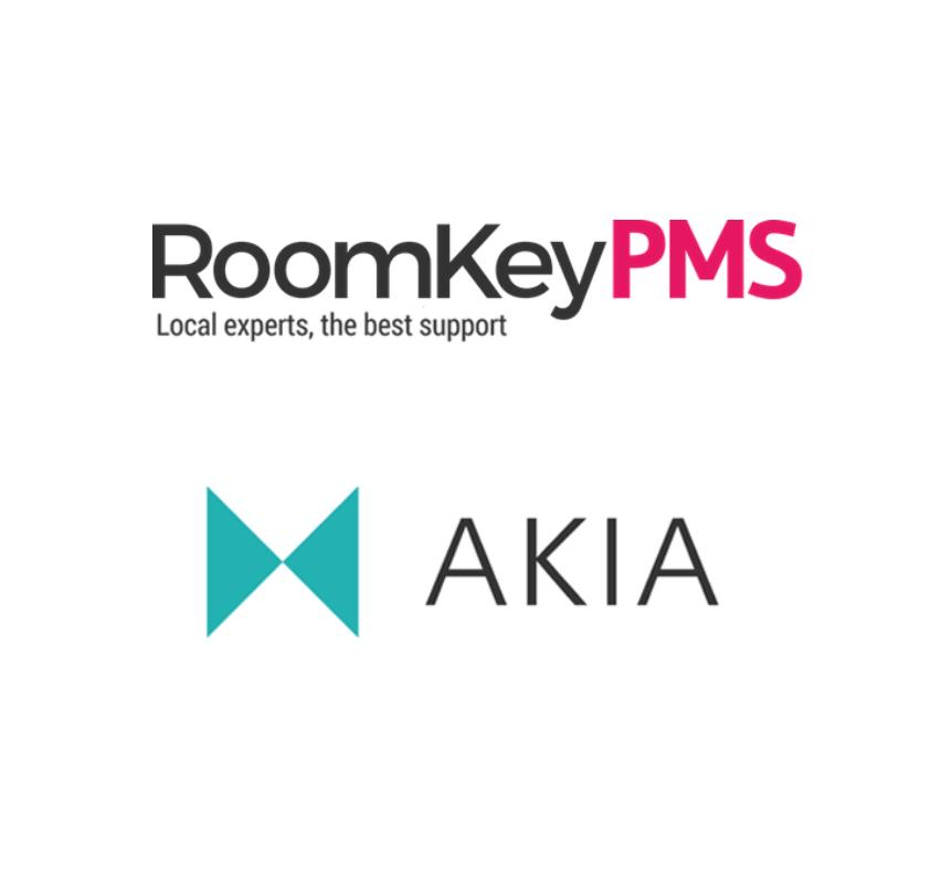 RoomKey PMS integration with Akia