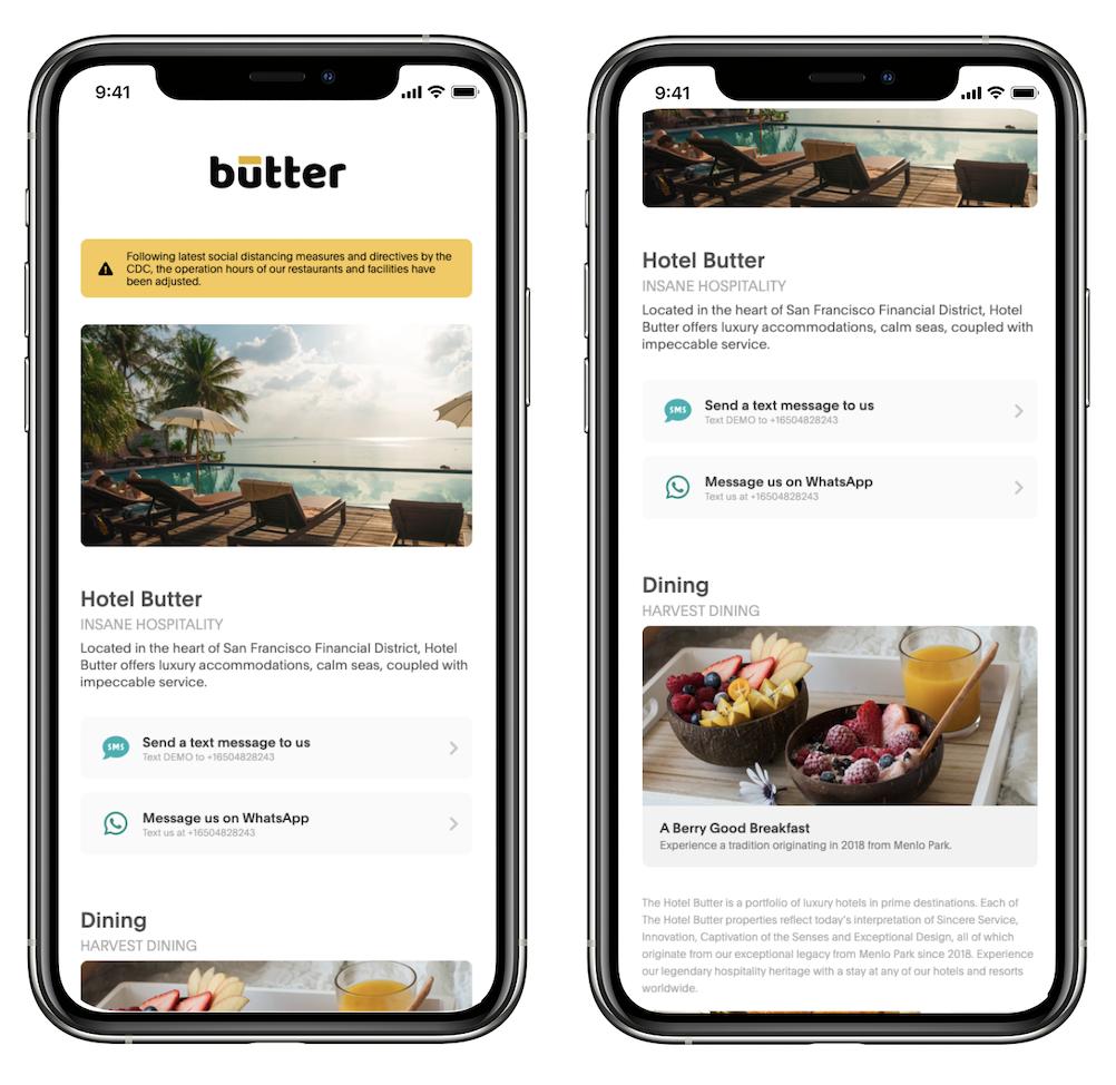 Akia digital compendium on an iPhone