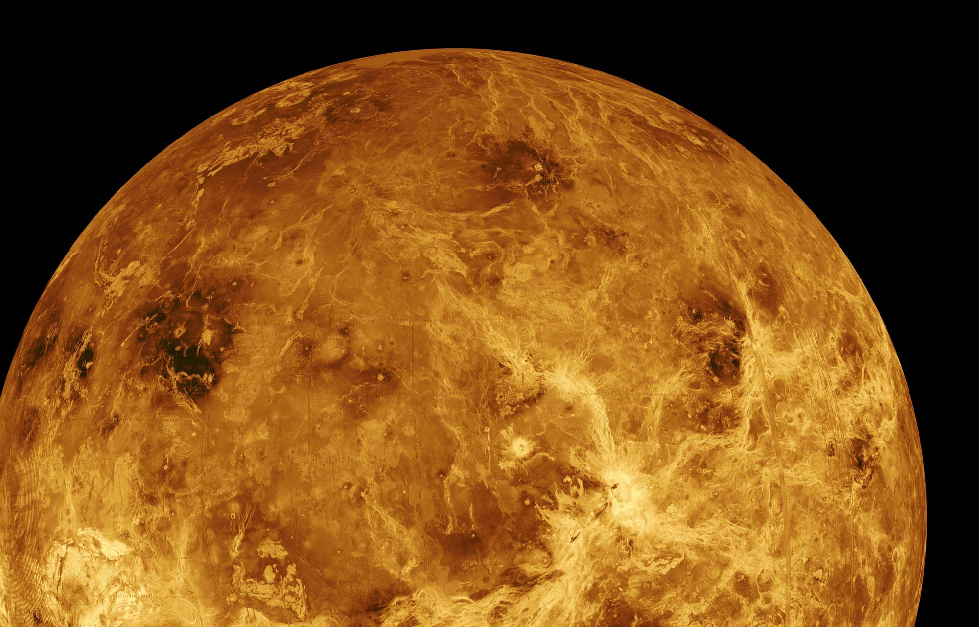 Planet Venus Up close