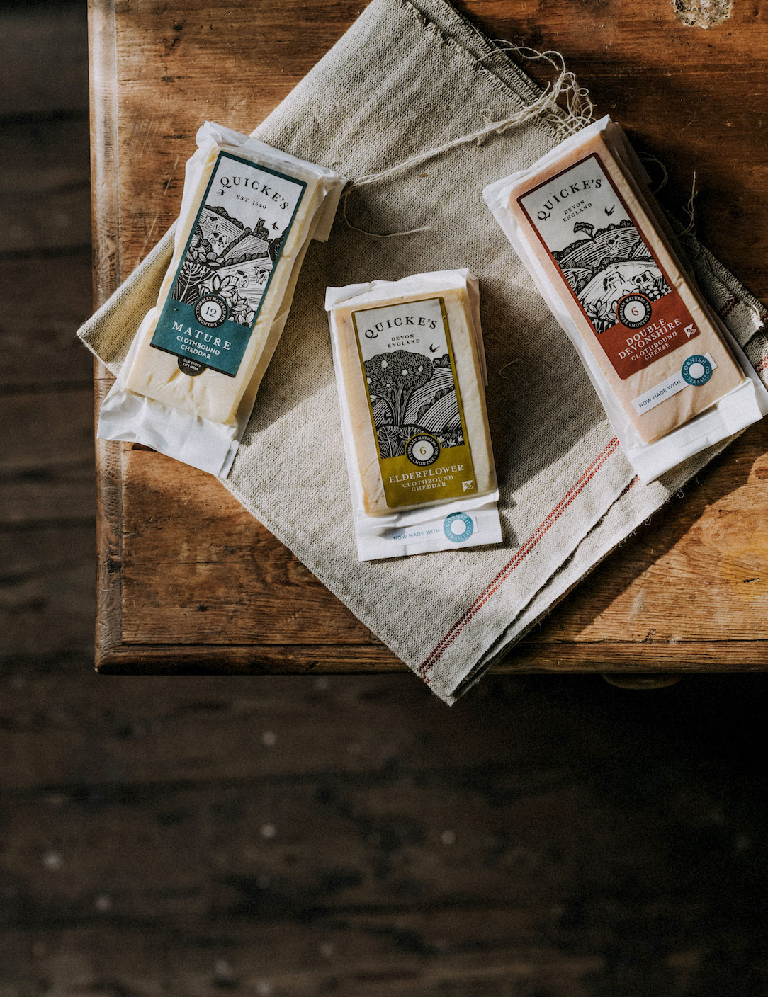 Altum Media marketing client, Quicke's cheese Exeter