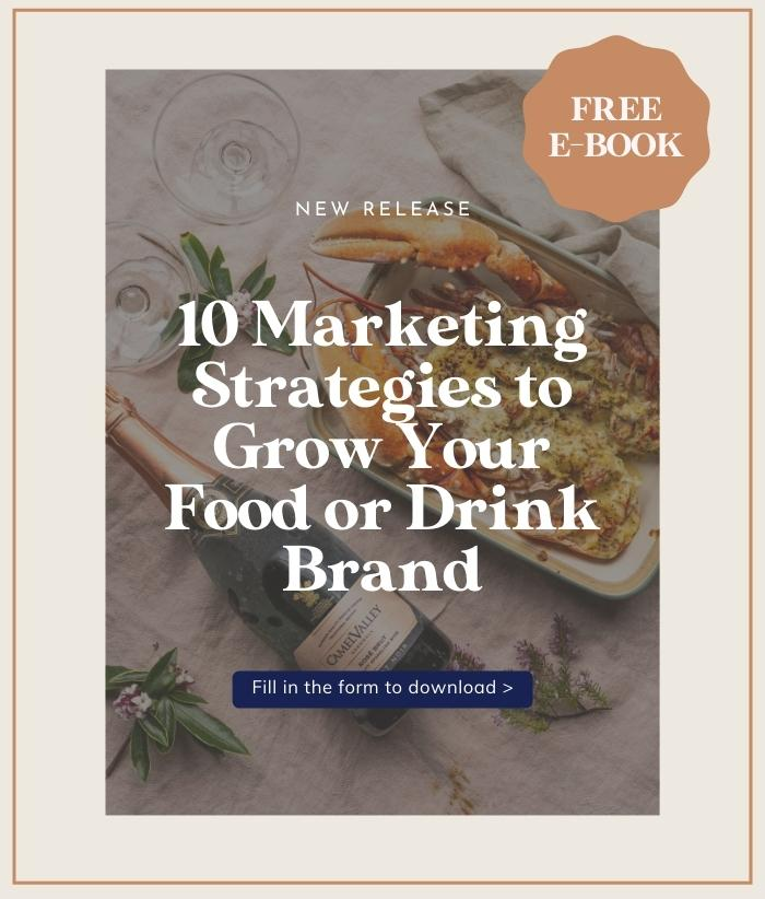 Download 10 marketing strategies to grow your food or drink brand