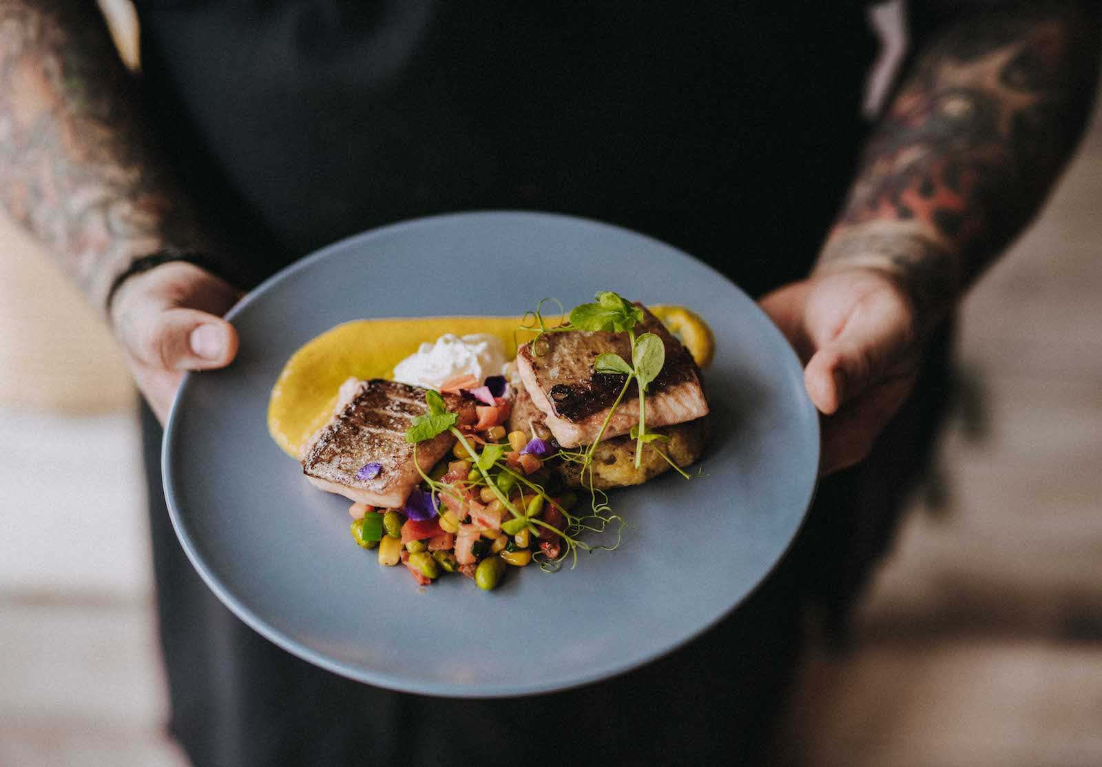 England's Seafood FEAST chef Ash Hamilton
