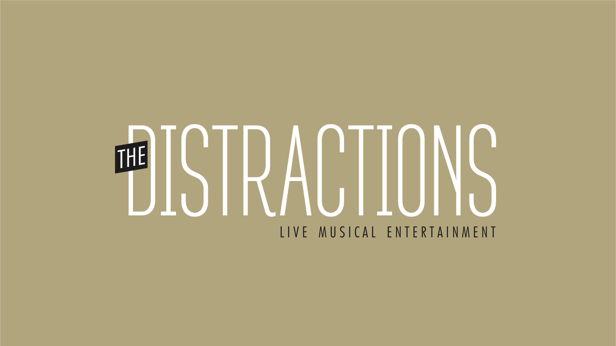 The Distractions Logo final design