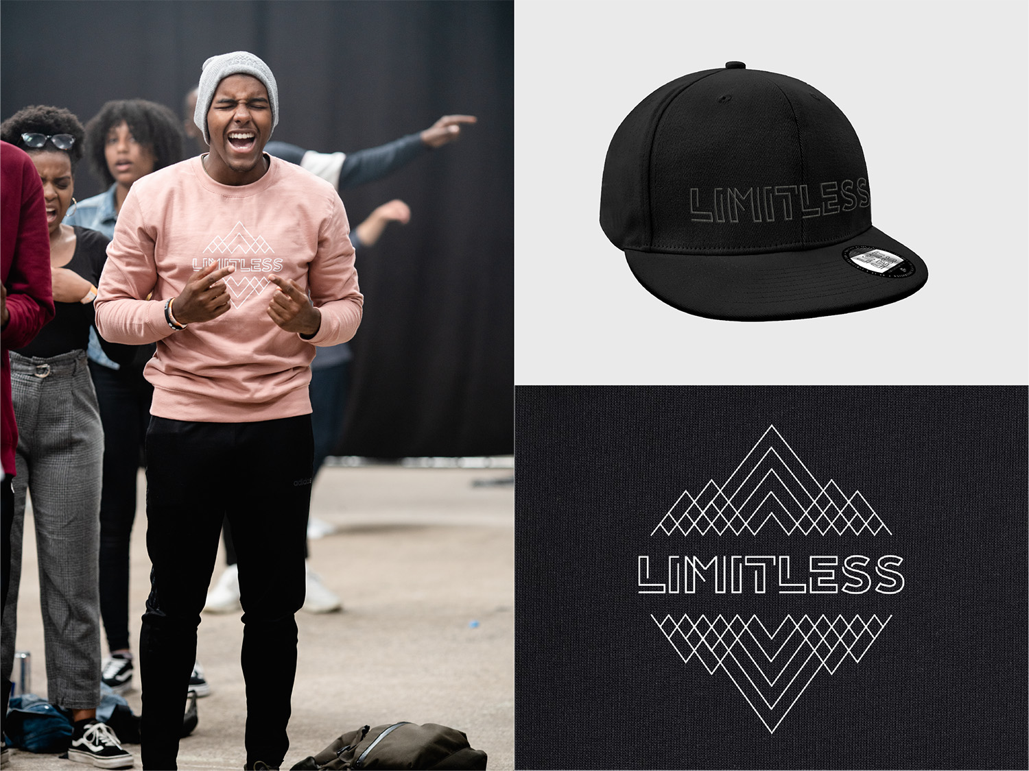 Limitless Merchandise Design