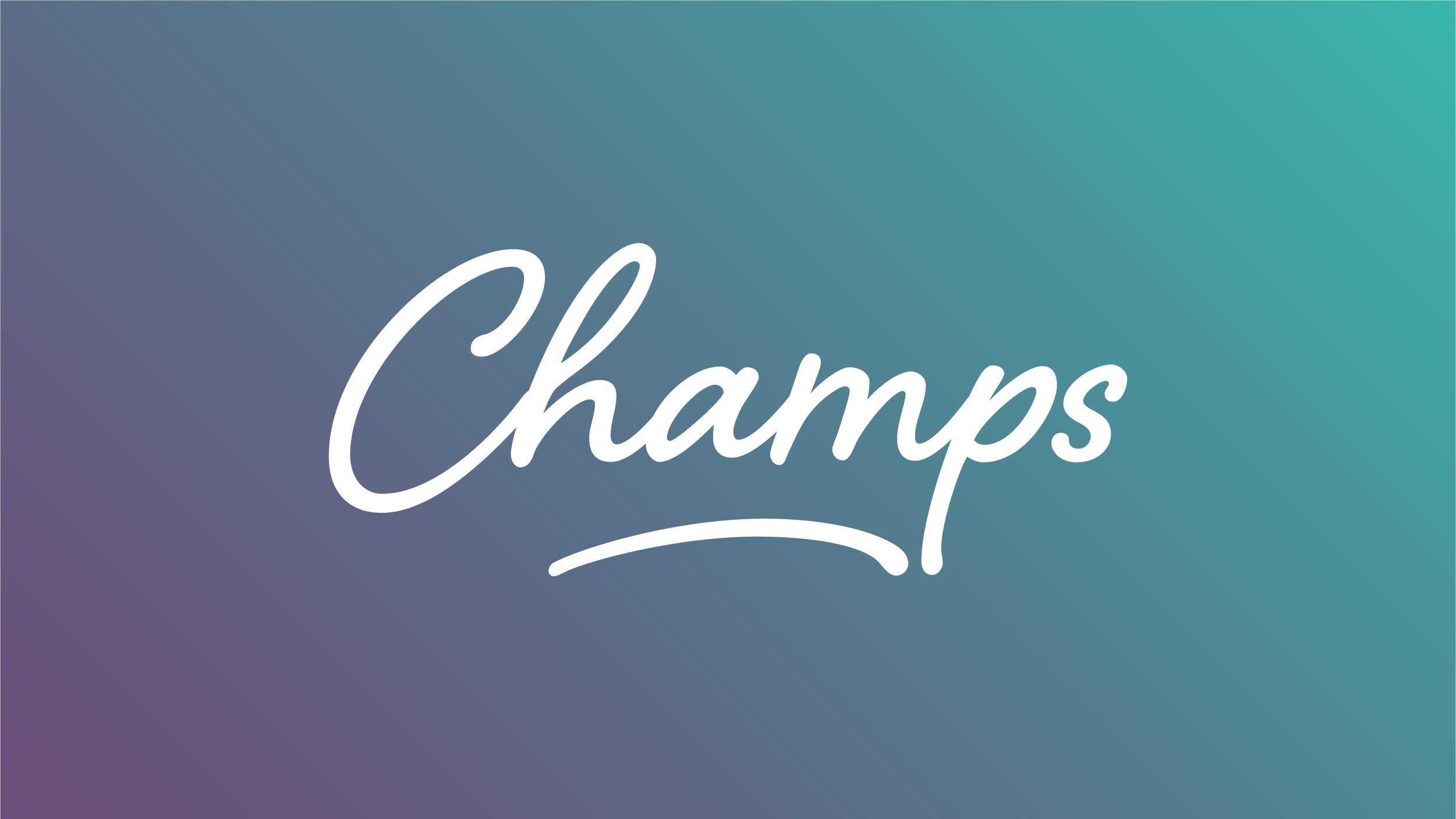 Champs final logo