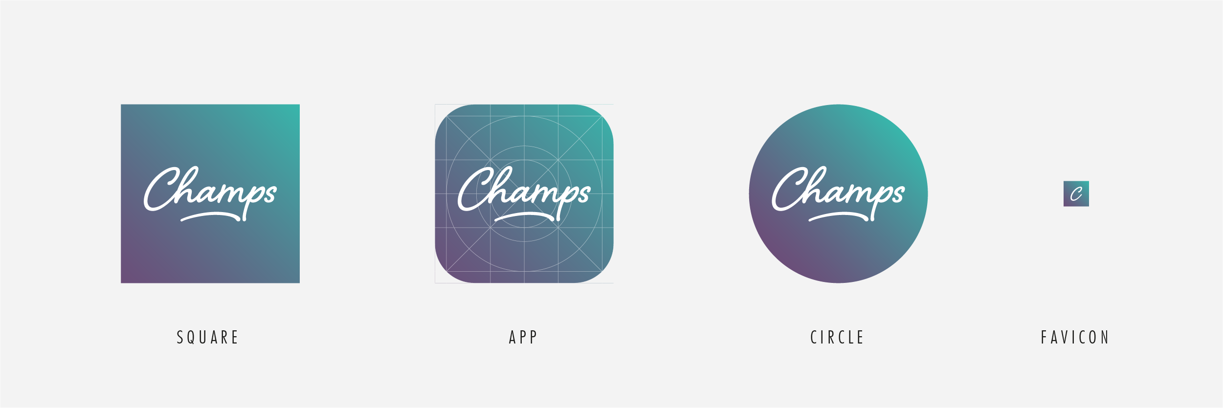 Champs Icons