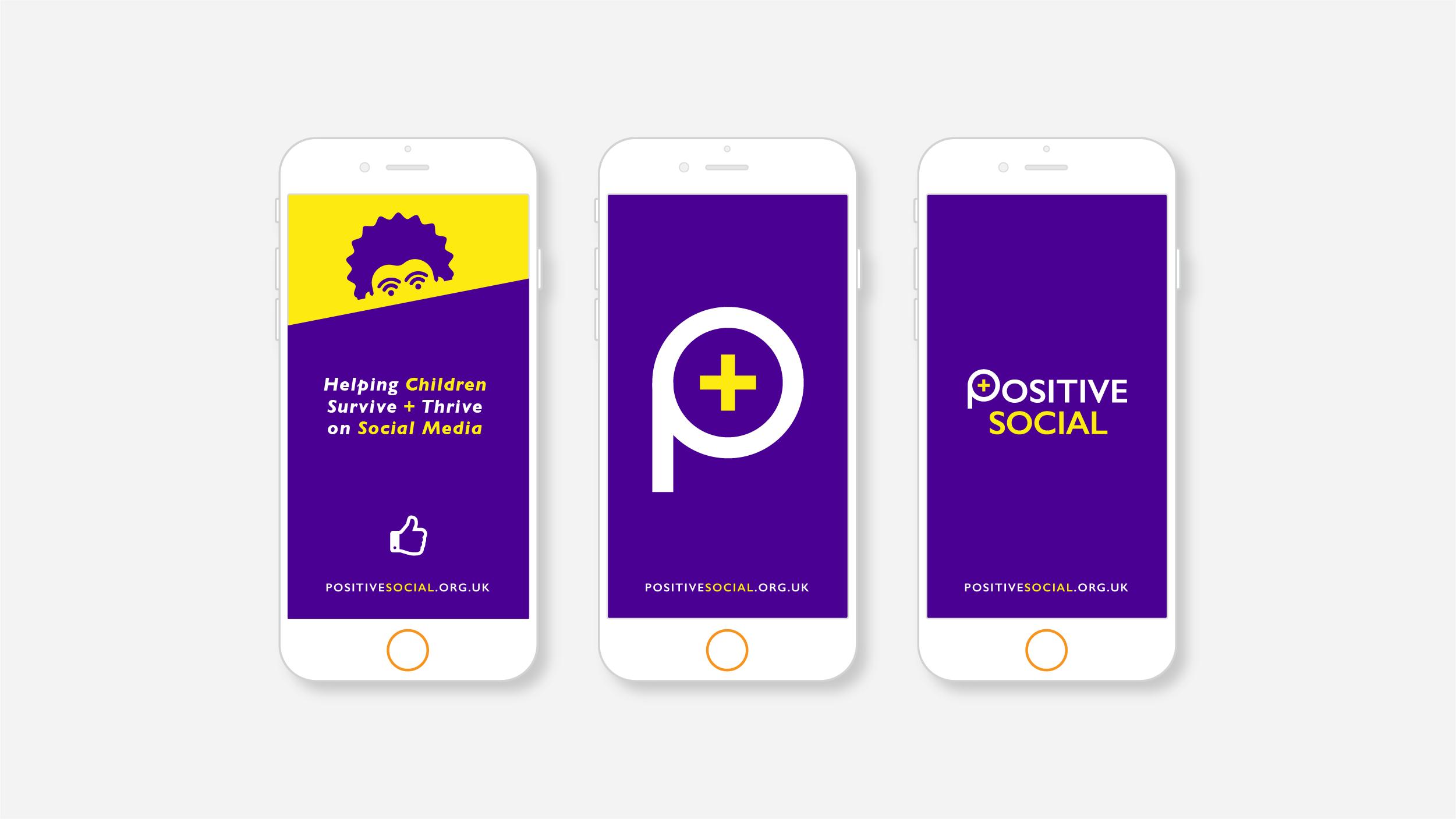 Positive Social Branding on Mobile Screens