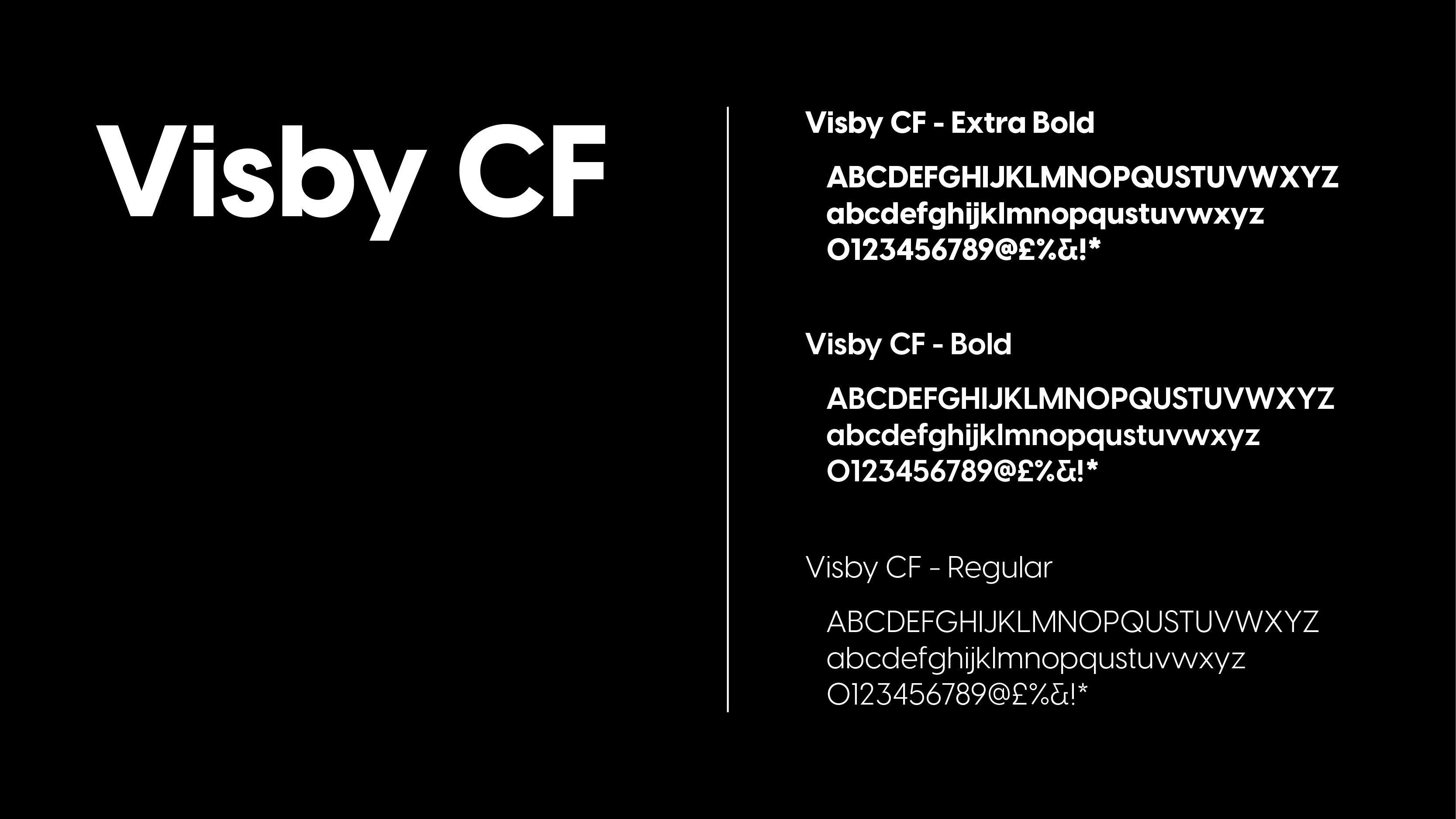 Visby CF Font