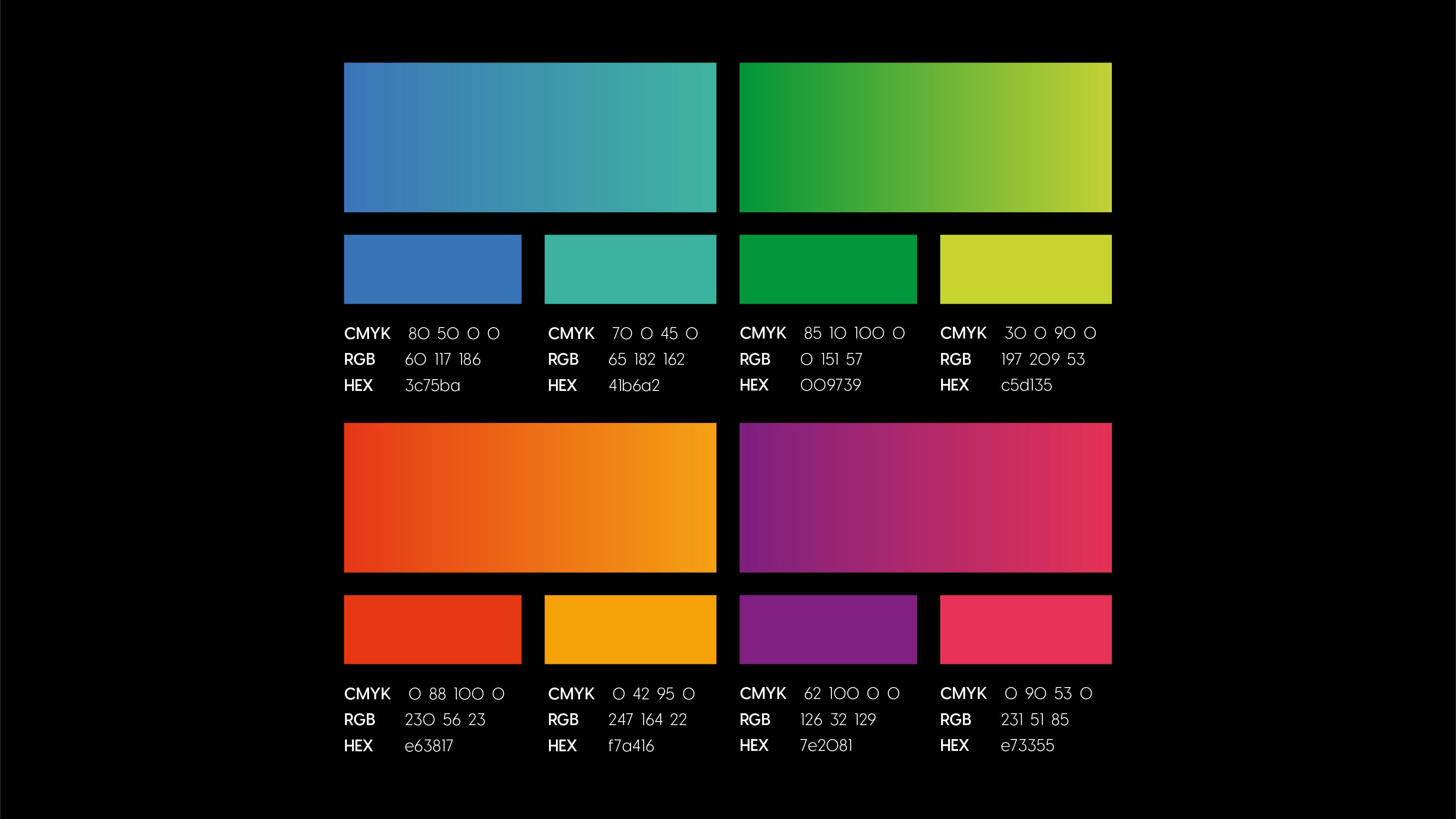 M10 colour Palette
