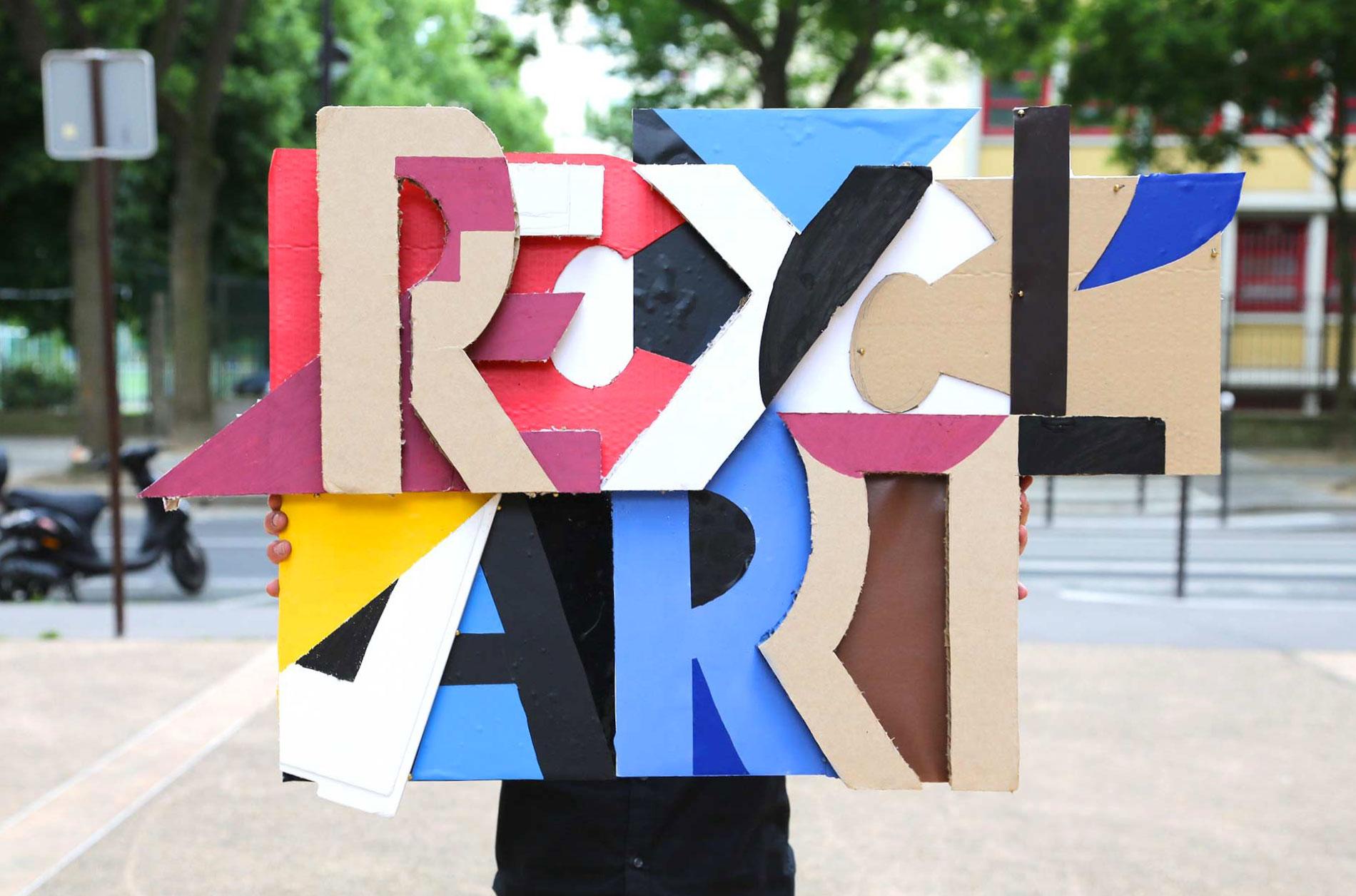Création artistique issue du recyclage