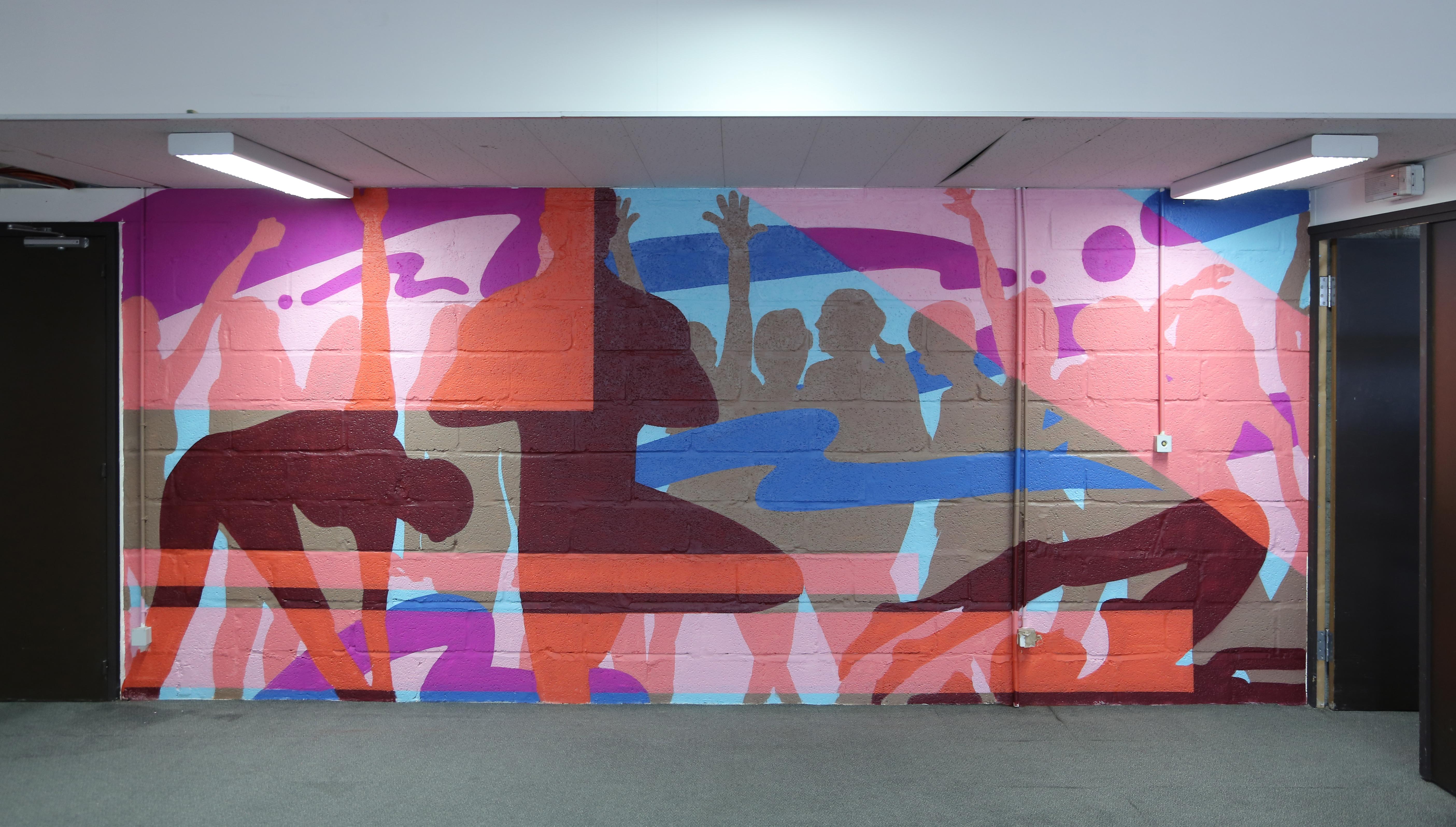 design mural chez 3M