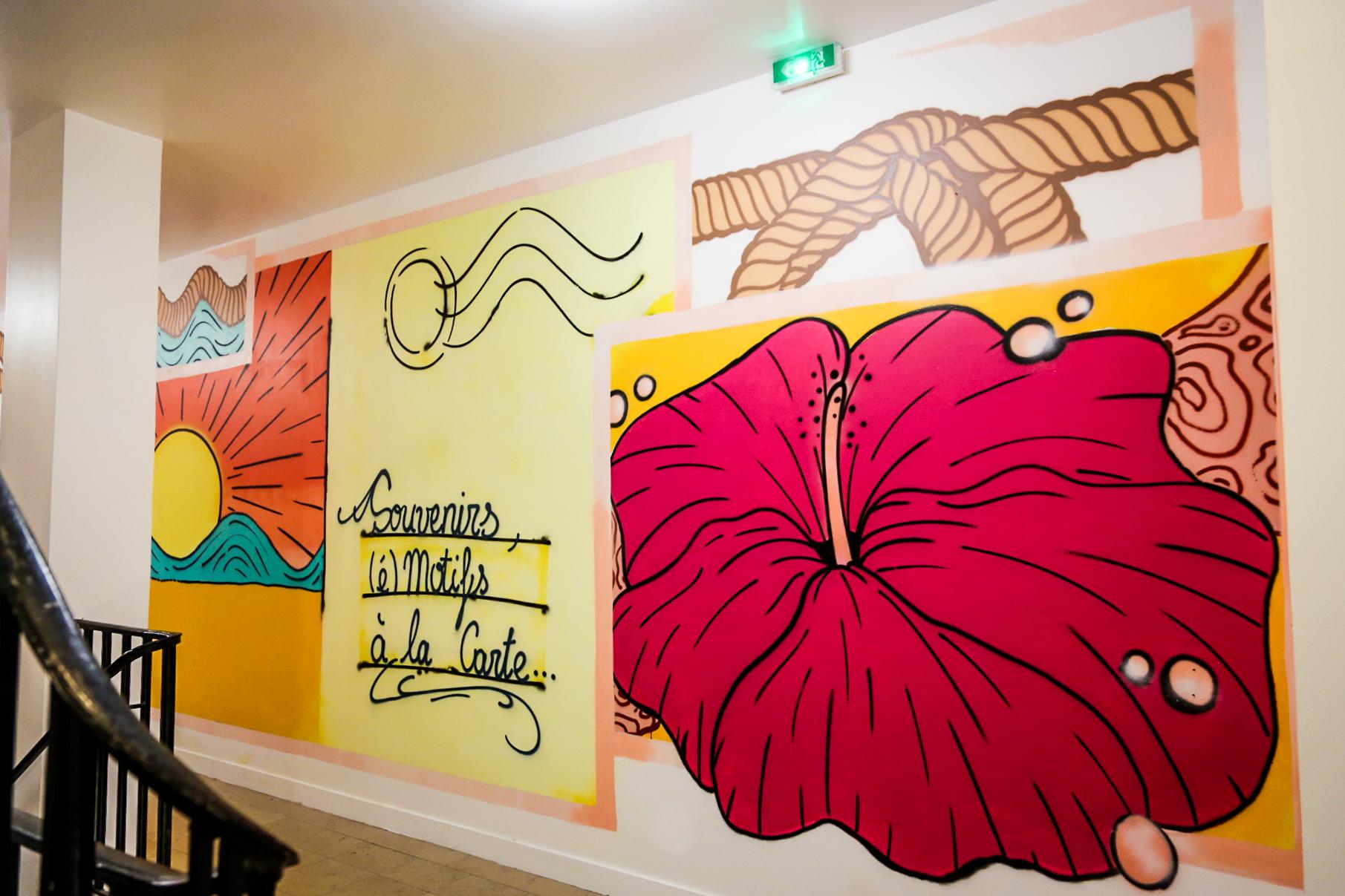 décoration graffiti chez PrestaShop