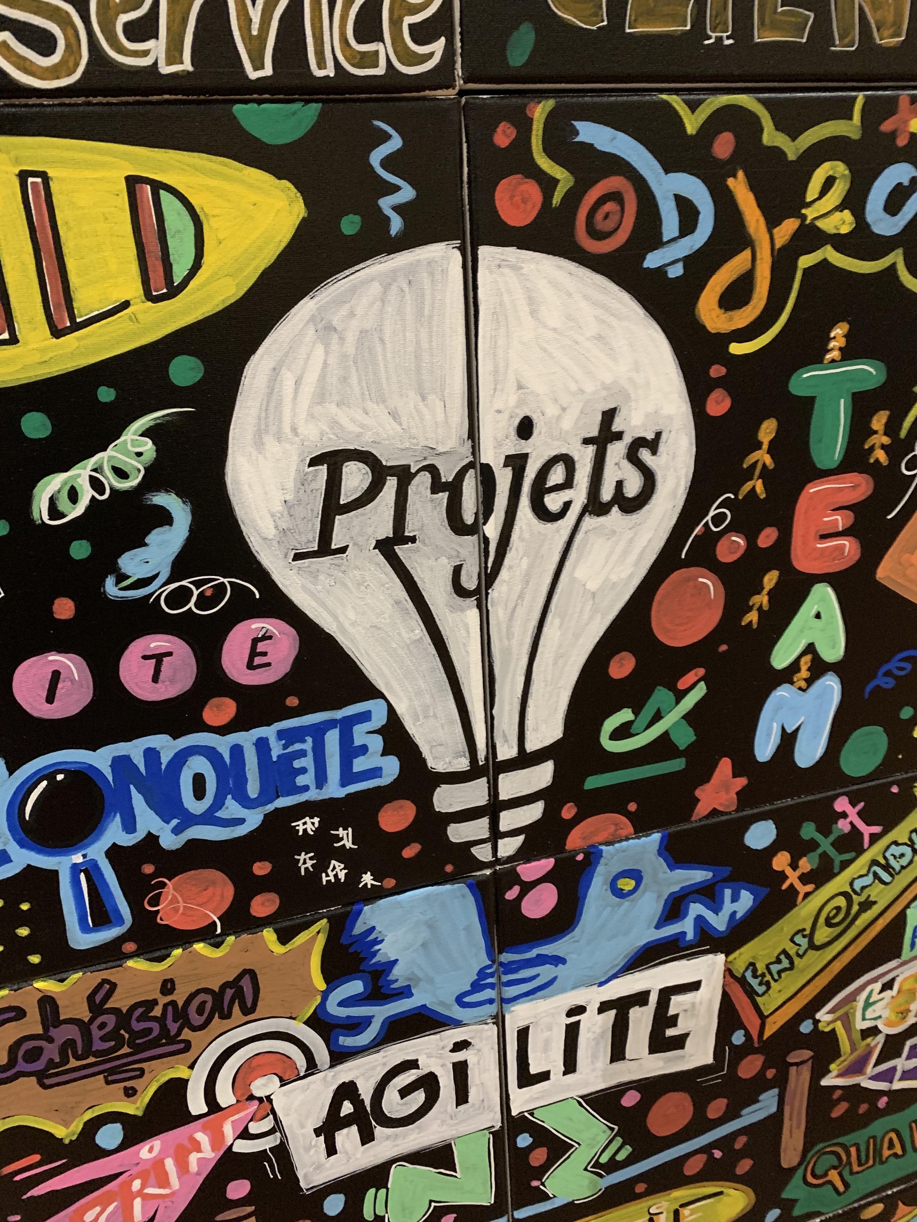 toiles street art team building