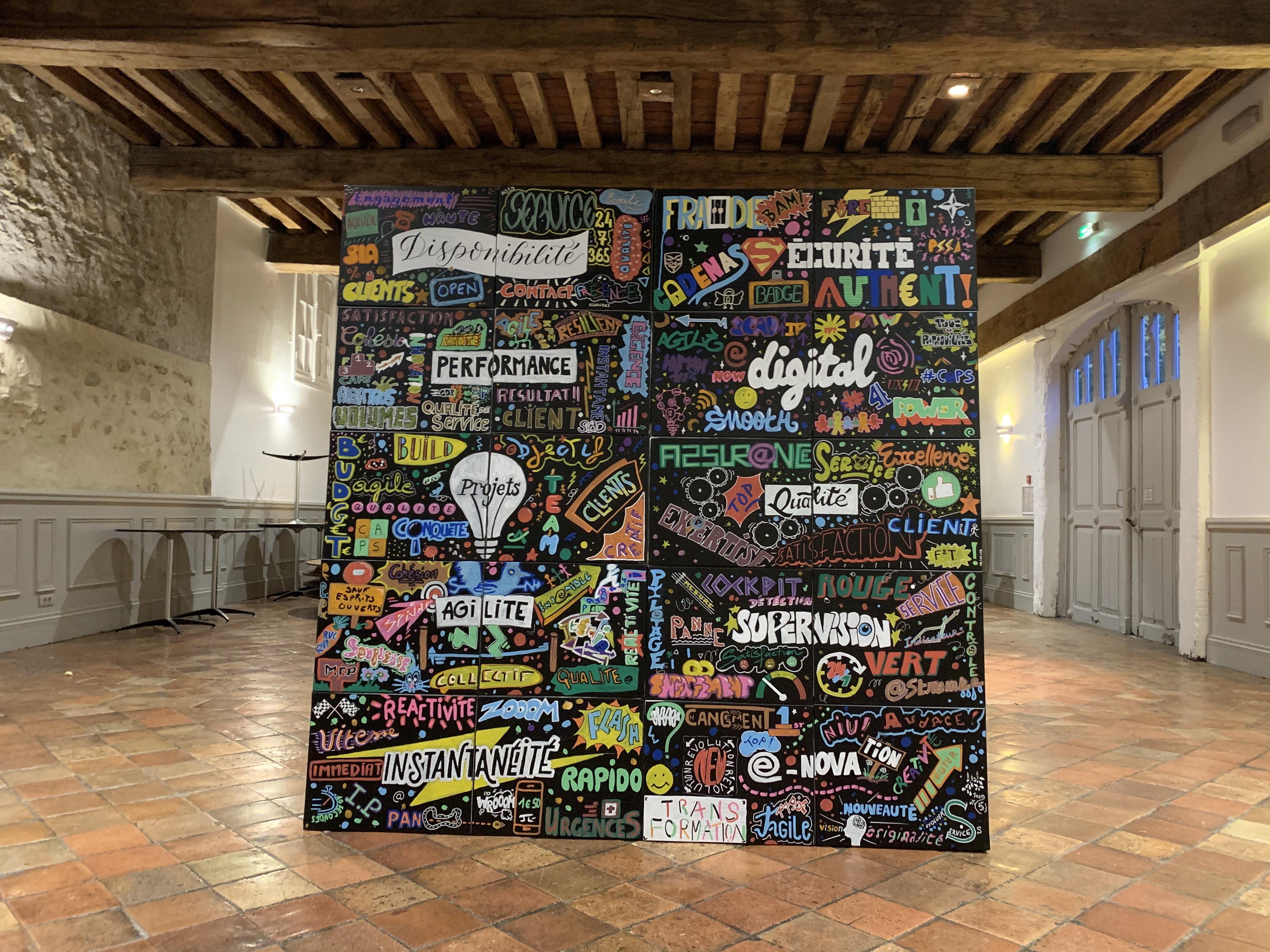 fresque graffeur à paris