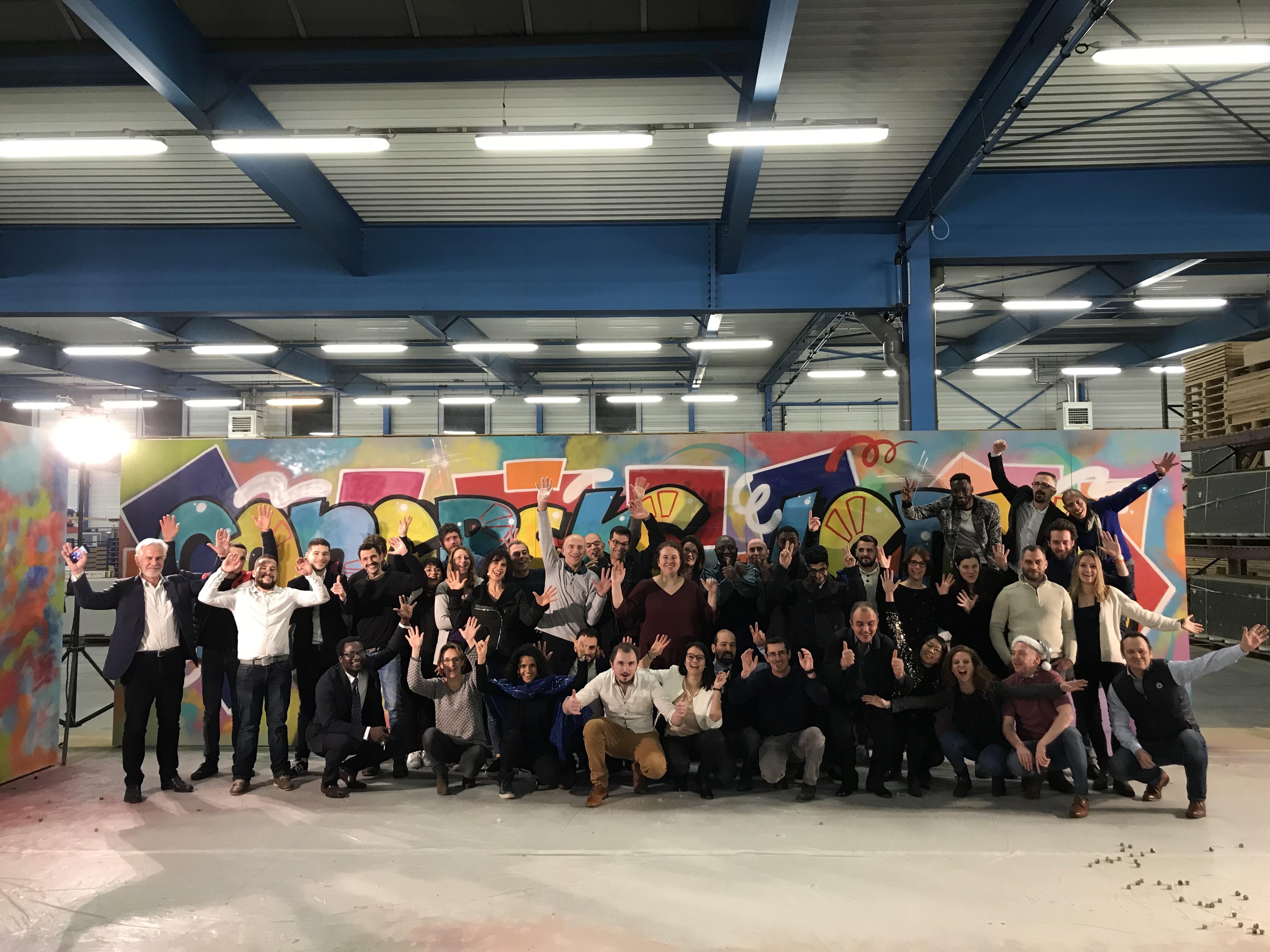 team building de cohésion d'équipe