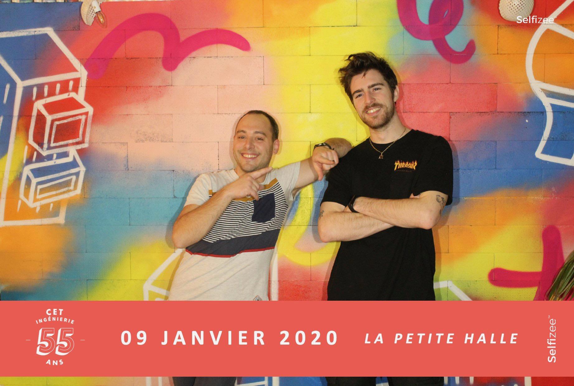 photocall artistique et créatif en soirée d'entreprise