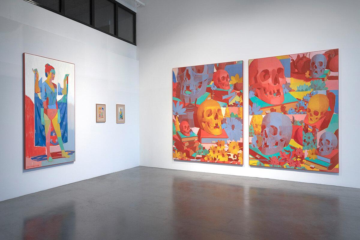 Exposition sur toile de l'artiste ARIZ a Rouen