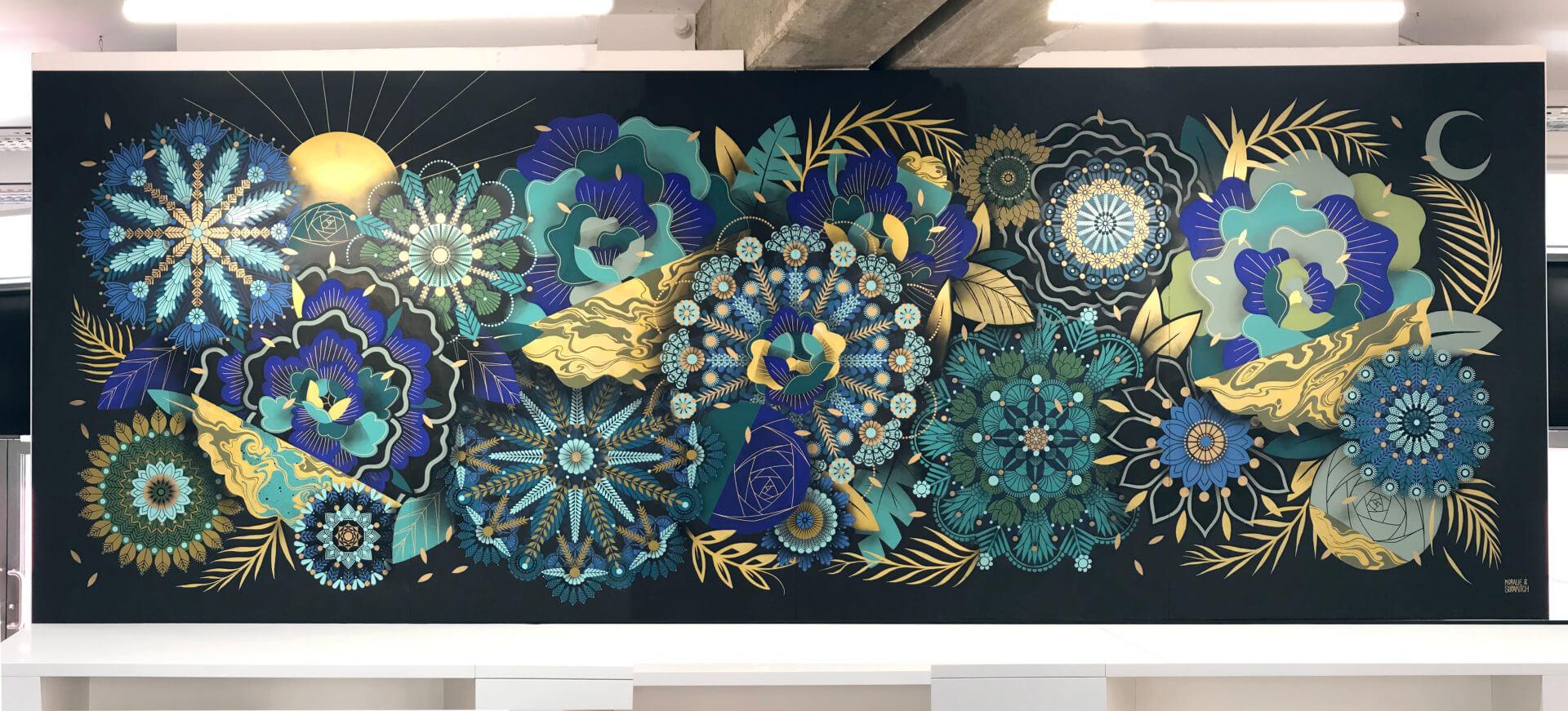 Oeuvre des artistes Supakitch et Koralie