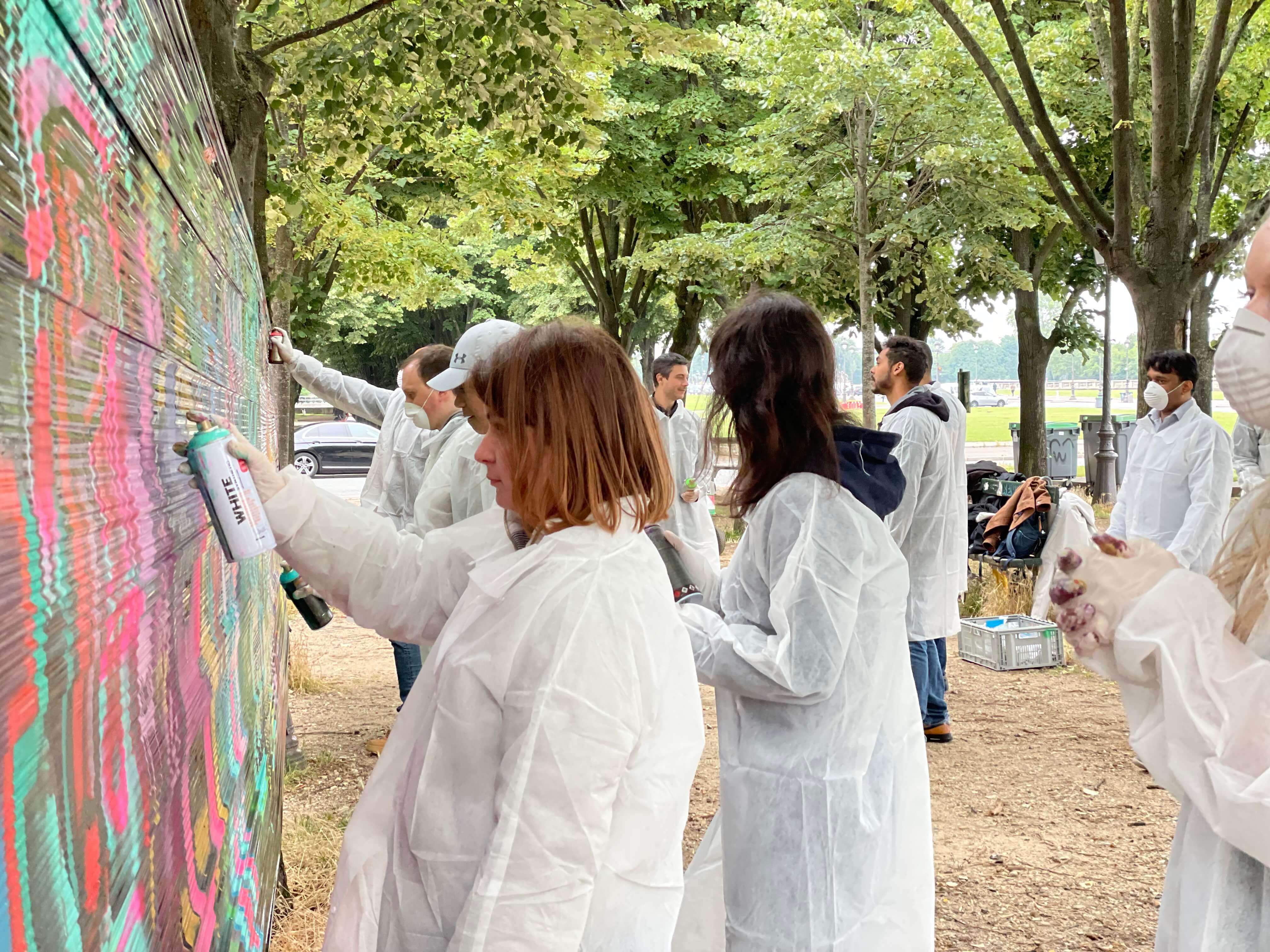 Atelier initiation au graffiti
