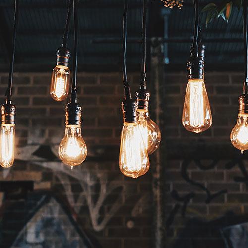 lumière et empoule design