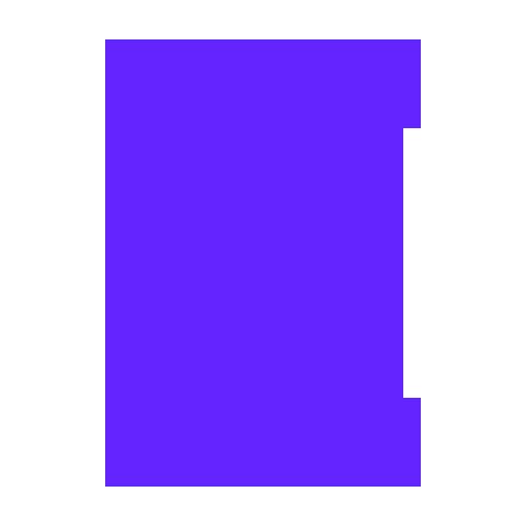 logo ADN violet