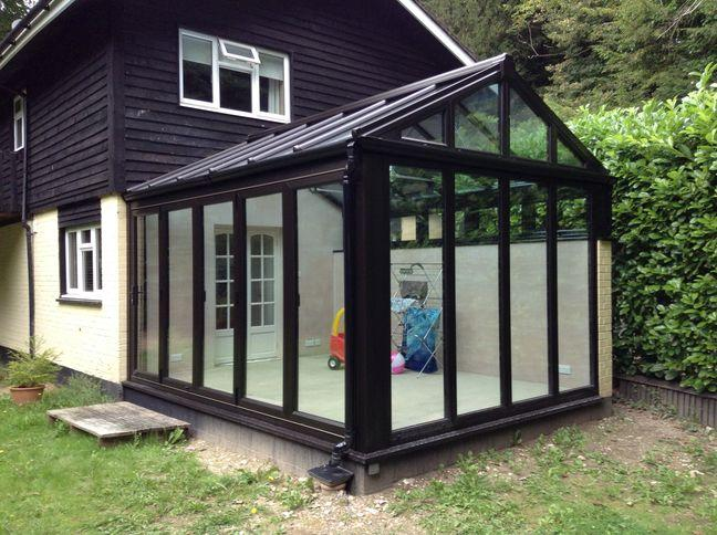 house with classic conservatory range