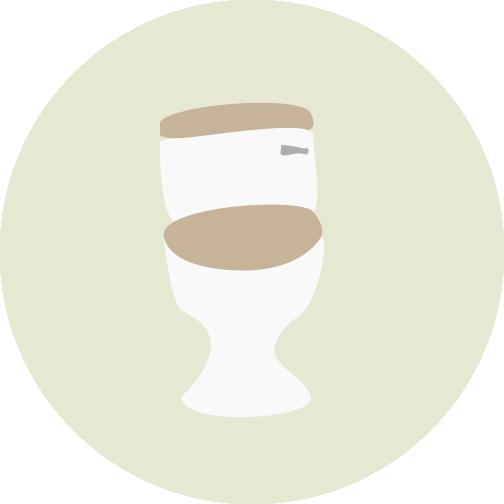 Toilet icon.