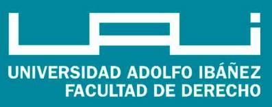 Logo uai facultad de derecho