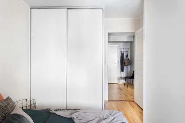 Garderobe på soverom