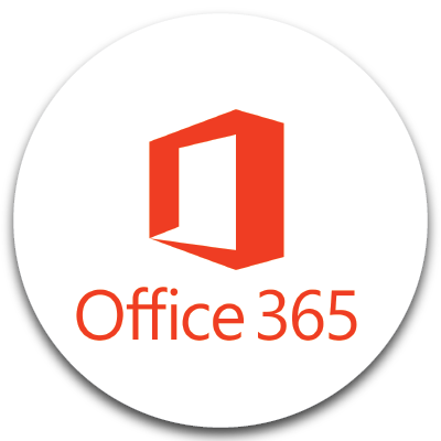 Office 365 logo. Click to learn more about Office 365.