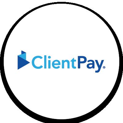 ClientPay logo. Click to go to ClientPay website.