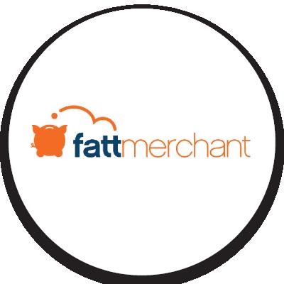 fattmerchant logo. Click to go to fattmerchant website.
