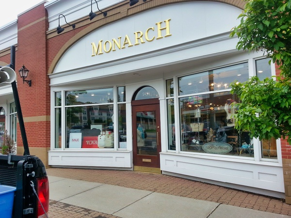 A local business in Buffalo New York that has very clean store front windows.