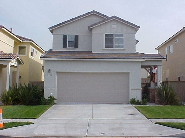 Residential window cleaning job that was done by window cleaners in Chula Vista California.