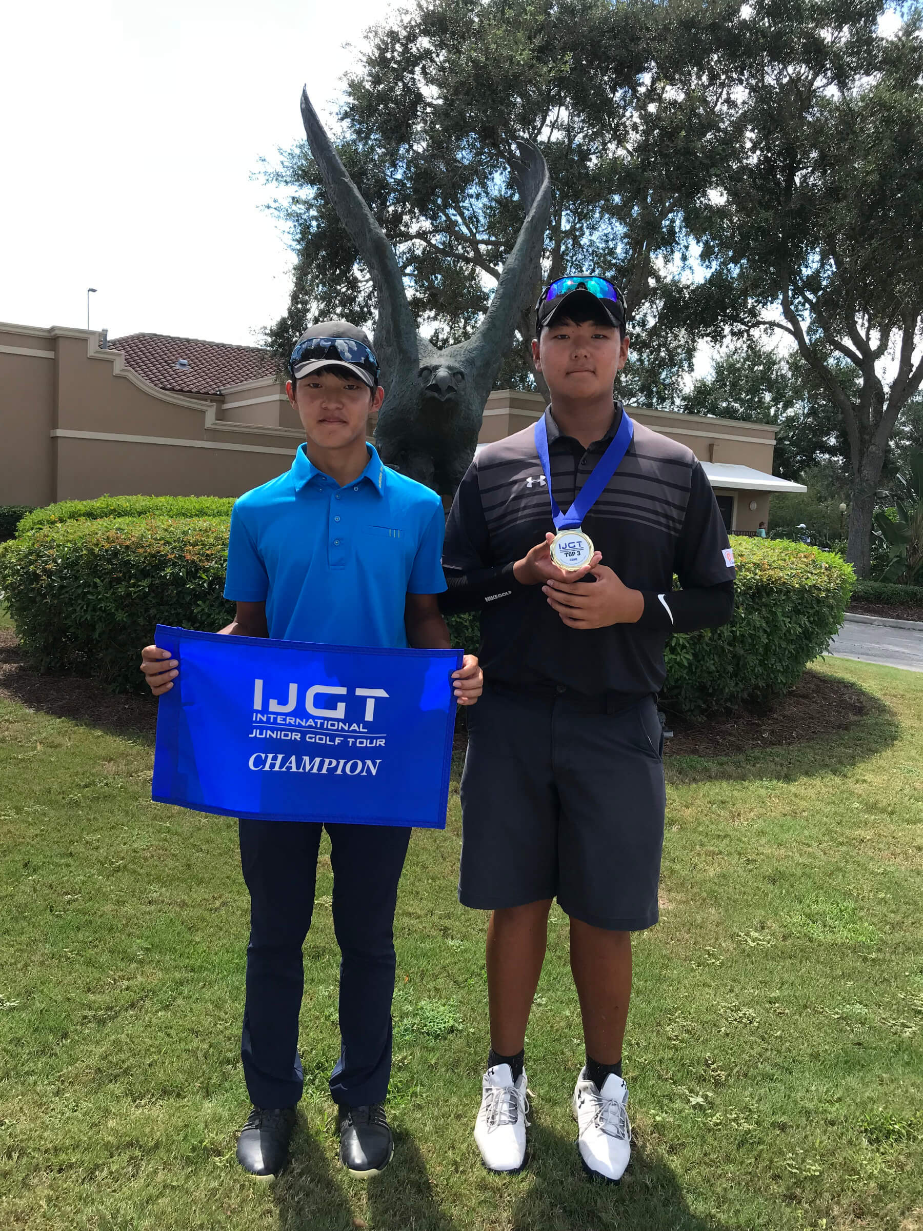 Elite JR. Golf Academy Winner