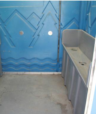 Construction urinal