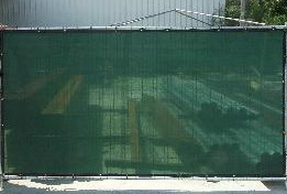 privacy construction fencing
