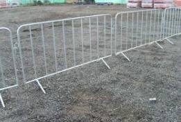 crowd control fencing