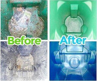 before and after bin pros