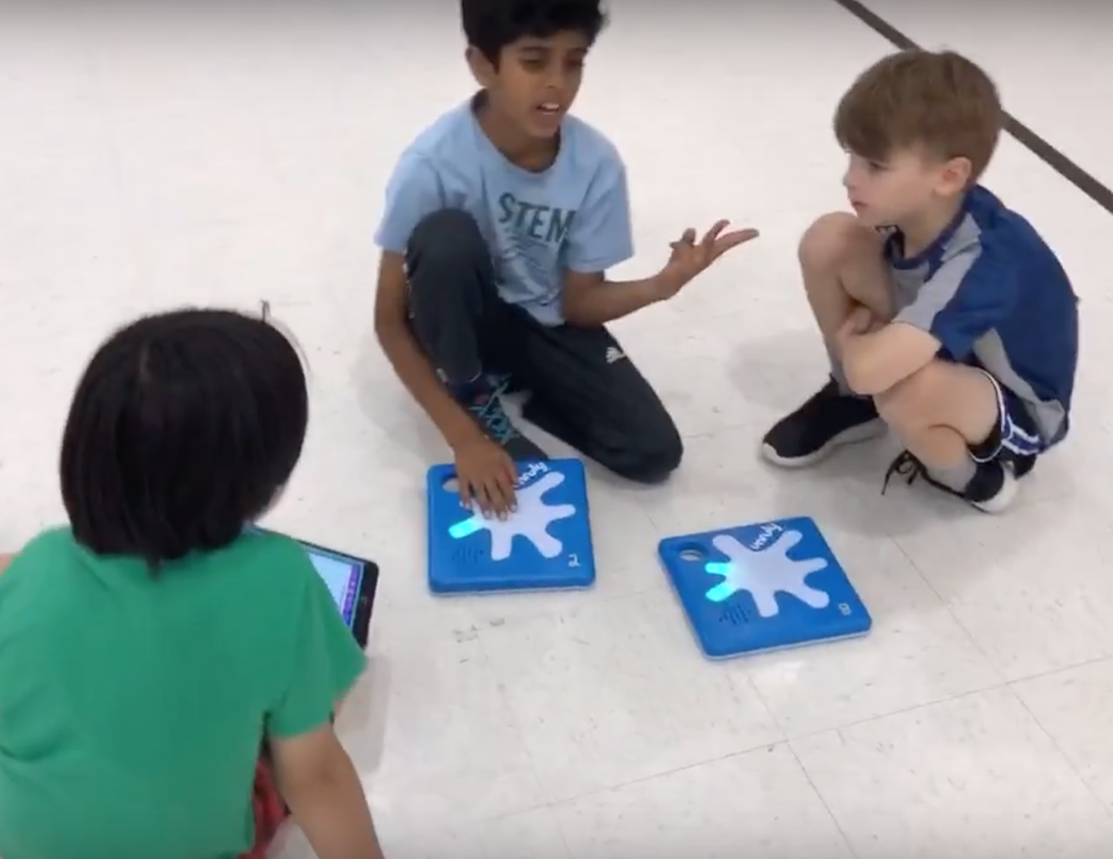 collaborative learning with unruly splats