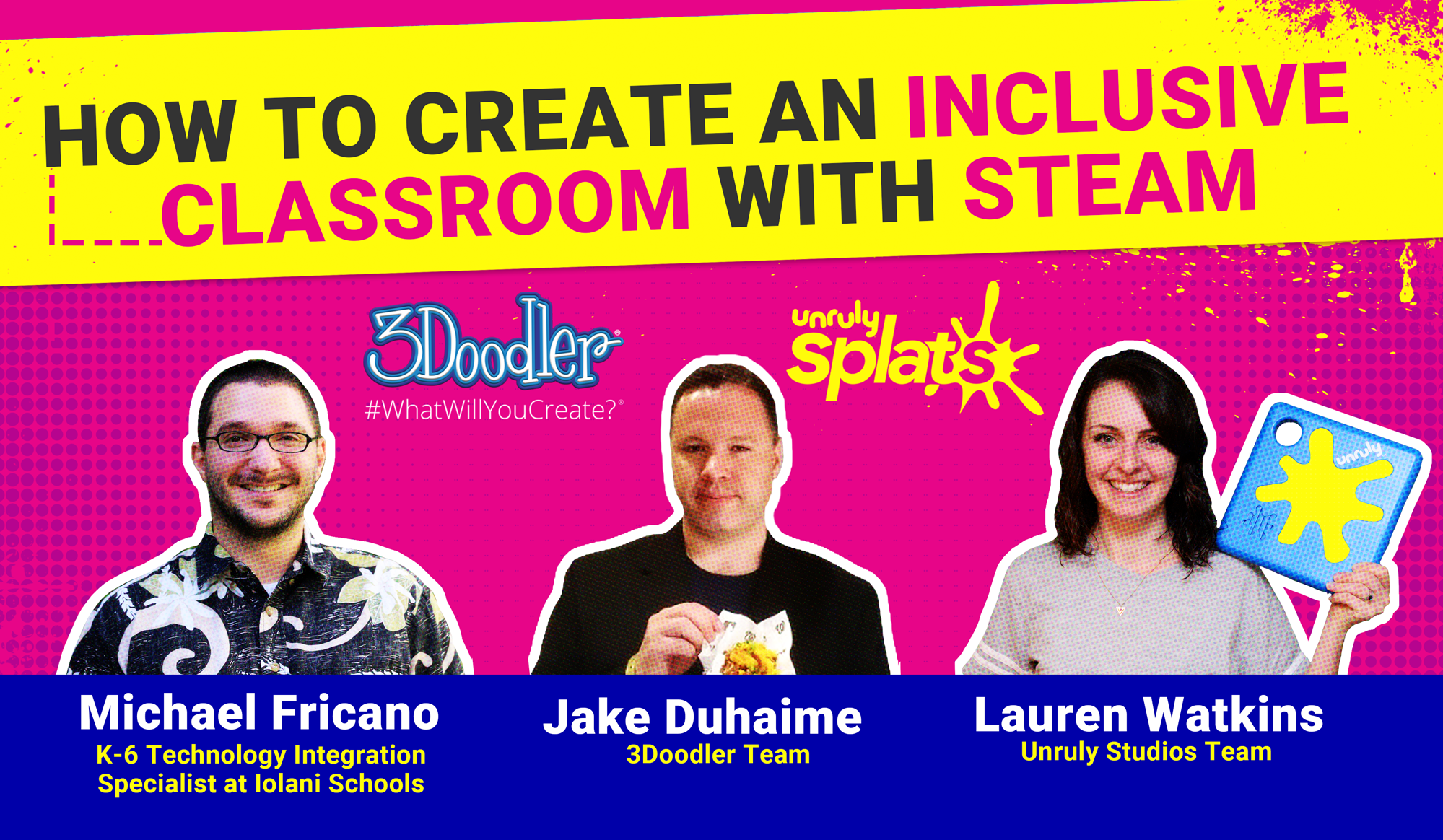 STEM Webinar - How to Create an Inclusive STEAM Class