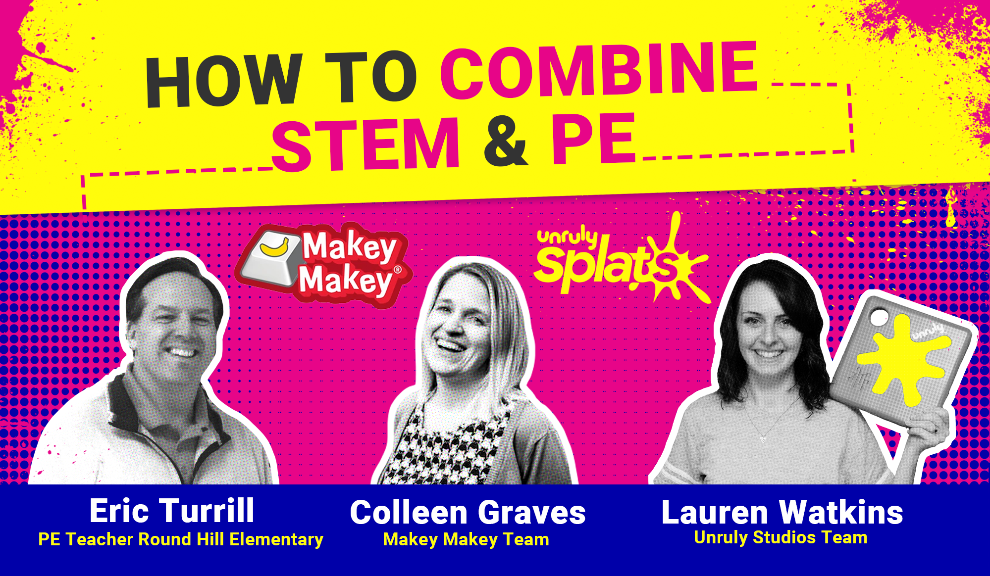 STEM Webinar - How to Combine STEM and PE