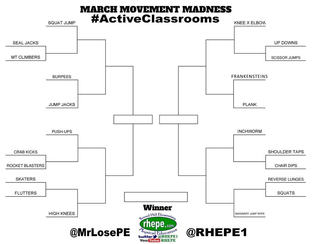 home education march movement madness brackets
