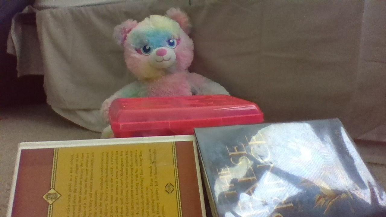 Found Art Challenge: Teddy at the Cash Register