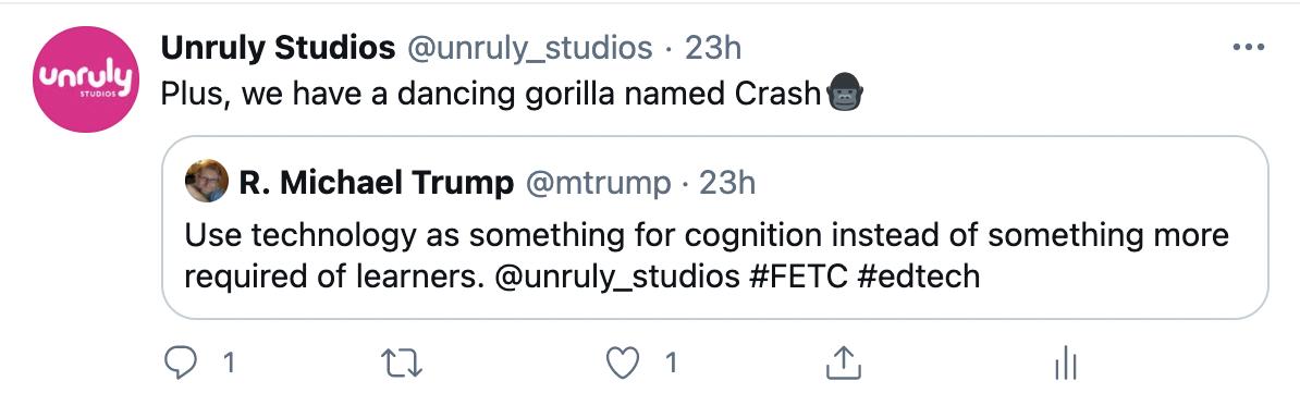 FETC Tweet