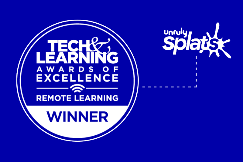 EdTech Award: Tech & Learning 2021 Award for the Best Remote & Blended Learning Tools