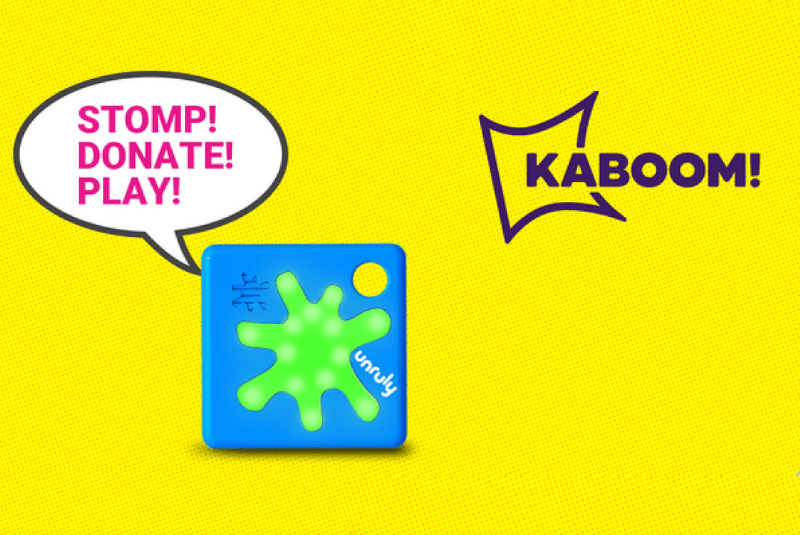 We've Partnered with KABOOM! To Help End Playspace Inequity