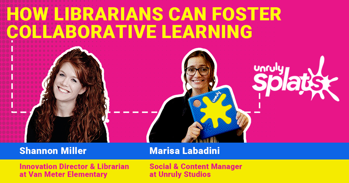 STEM Webinar - How Librarians Can Foster Collaborative Learning